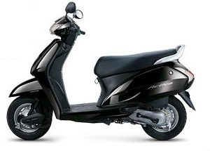 Honda Activa in Black Color