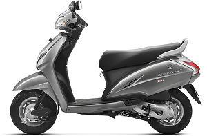 Activa Grey Metallic Color