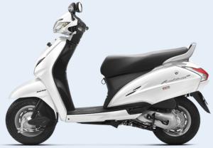 Honda Activa White Color