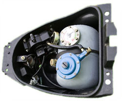 activar cng kit under seat