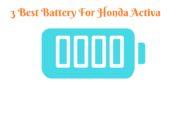 Best Activa Battery