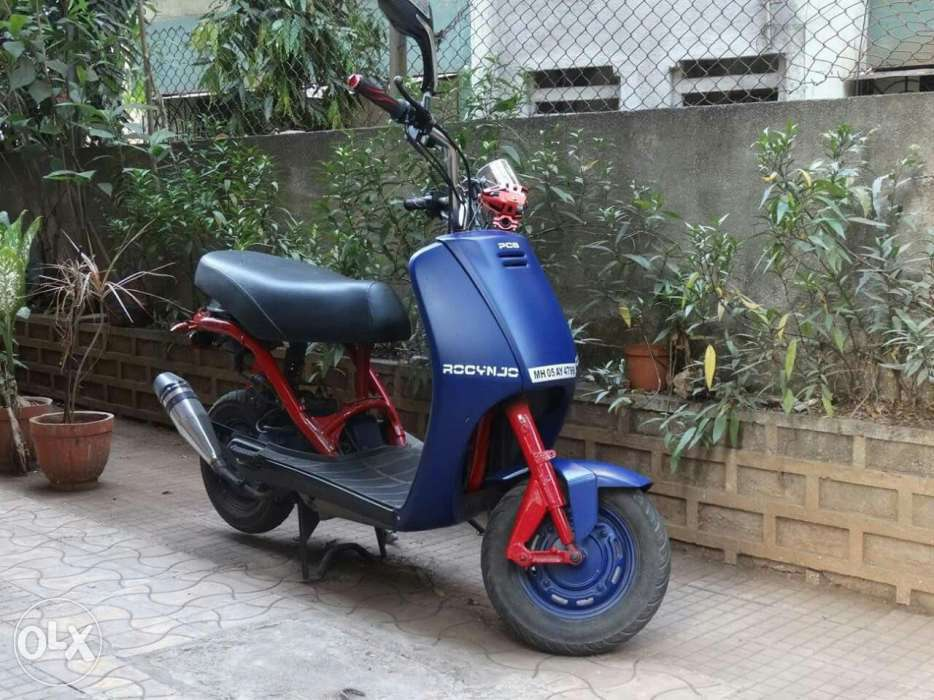 modified honda activa looks like bike