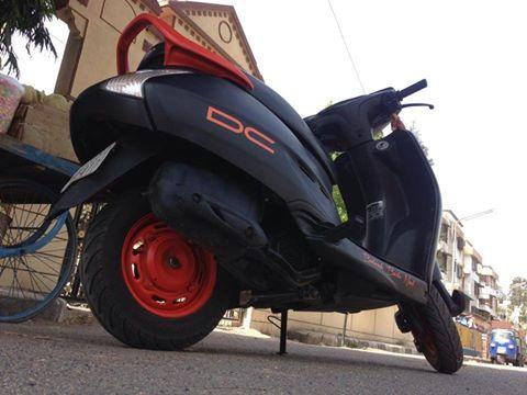 modified activa with DC