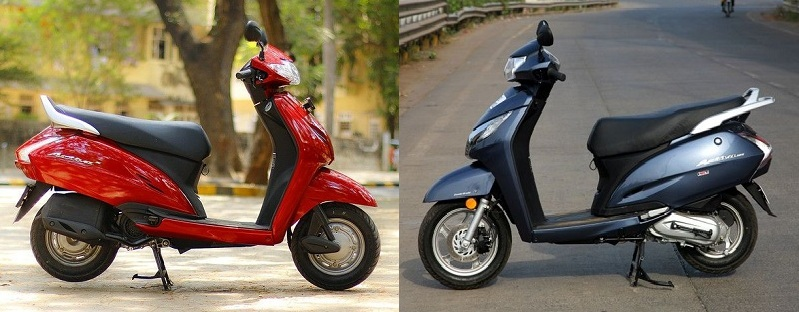 Compare Honda Activa Vs TVS Jupiter