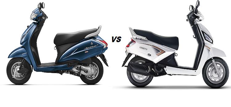 Compare Activa 3g, I, 125 vs Mahindra Gusto