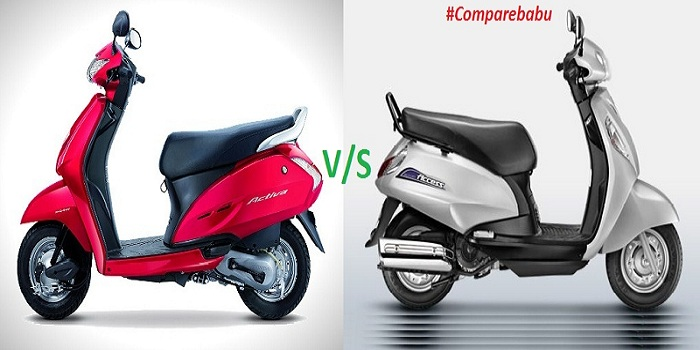 Compare Activa 3g, I, 125 vs Suzuki Access