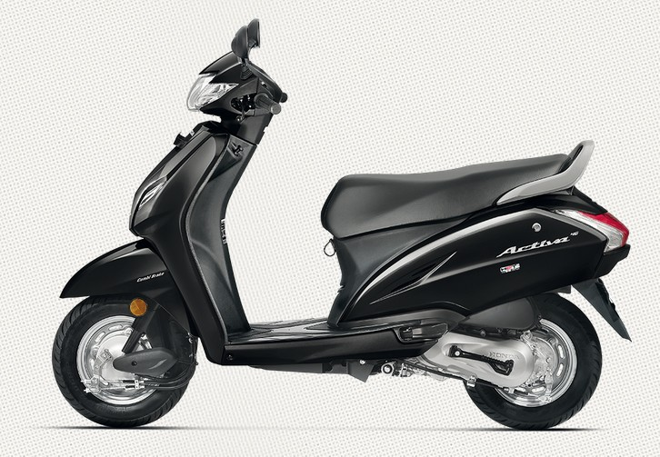 Honda Activa 4G in Black Color