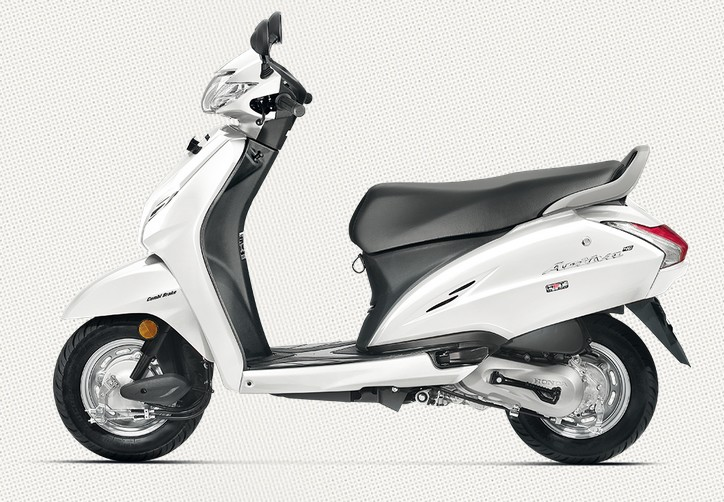 Honda Activa 4G in Pearl Amazing White Color