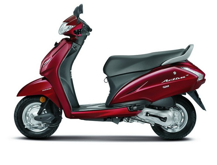 5 best selling honda activa colours 2018 activa 4g 3g. Black Bedroom Furniture Sets. Home Design Ideas