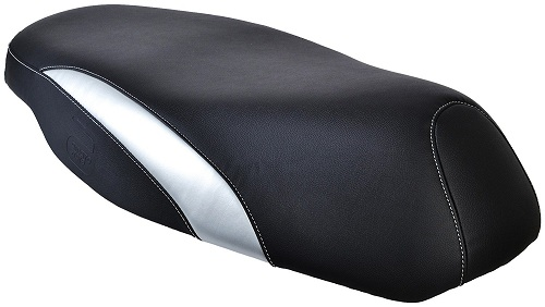 Autoform AC001 Seat Cover for Honda Activa (Silver and Black)