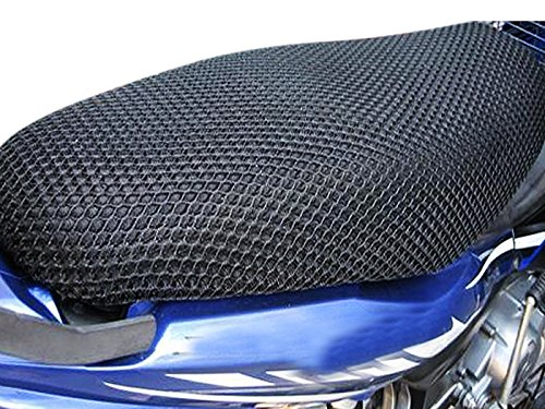 Vheelocityin Motorcycle/ Scooty Net Fabric Seat Cover for Honda Activa