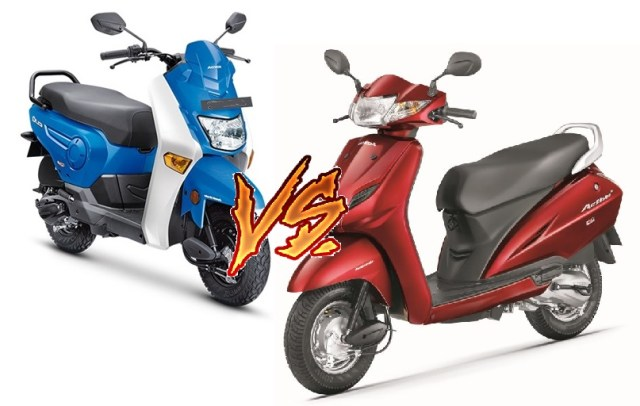 Compare Activa 4G vs Honda Cliq