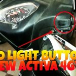 How to switch off Activa 4g headlight