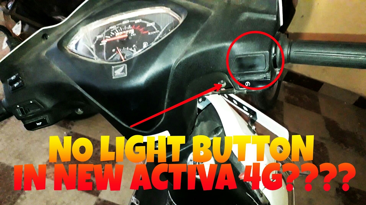 activa 5g  u0026 4g headlight