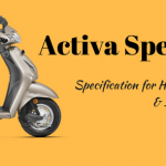 Activa Specification