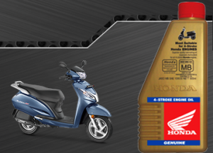Honda activa engine oil